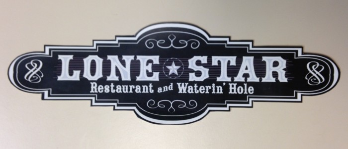 Lone Star Restaurant and Waterin' Hole Logo